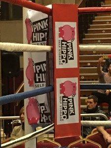 Pink Hippo Self Storage Sponsor Local Boxer