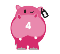 pink hippo 4